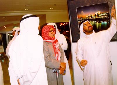 Fahed & The artist Khalifa Alqattan